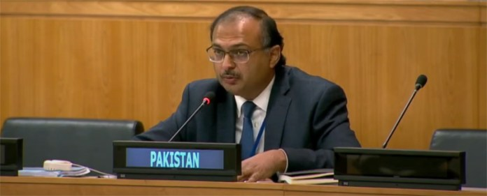 At UN, Pakistan calls India's claim to Kashmir as India's part 'self-delusional'