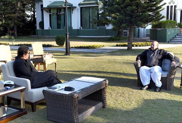 Barrister Sultan Mehmood MLA called on Prime Minister Imran Khan