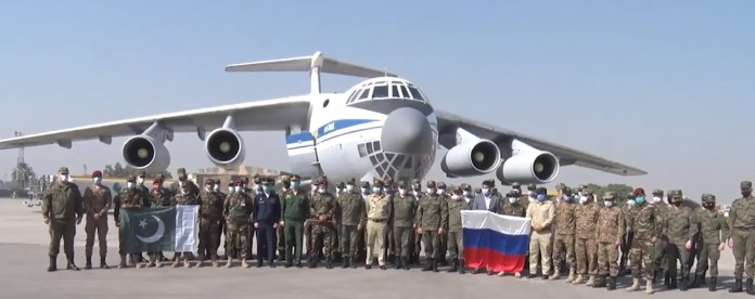 Russian Special Forces arrive in Pakistan for exercise Druzhba