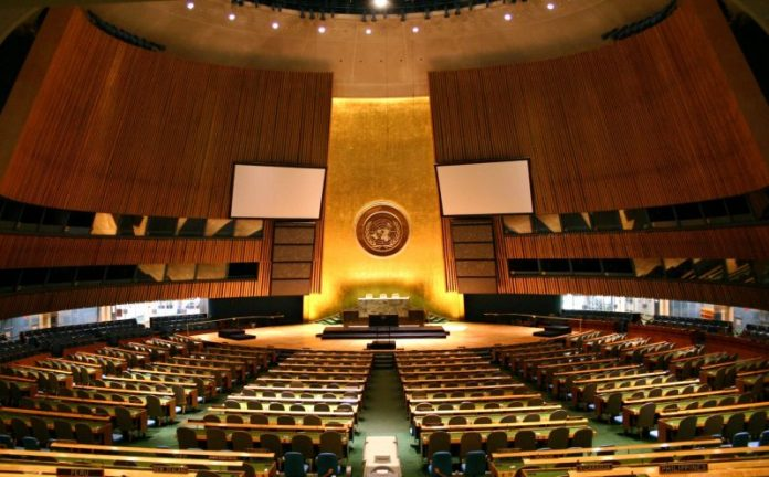 UNGA's panel adopts with big majority Pakistan's draft seeking security assurances for non-nuclear states