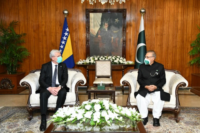 President for translating Pakistan-Bosnia goodwill into substantive cooperation