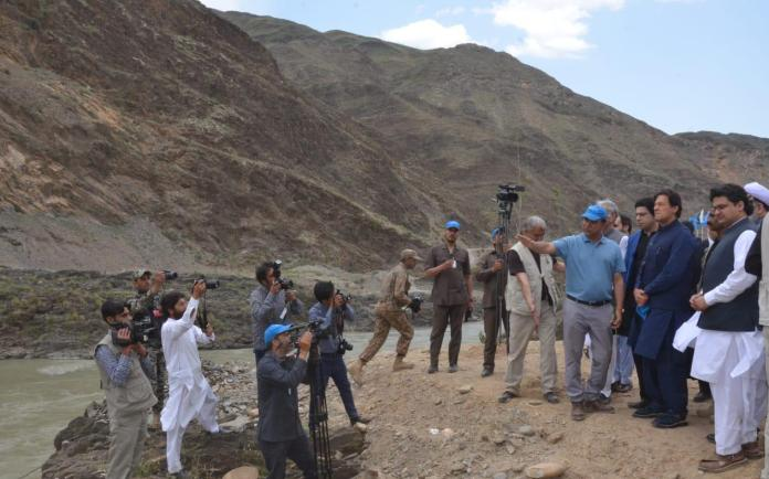 PM visited site for construction of Mohmand dam in May 2019.