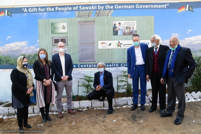 Germany assisted portable health clinics to reach underprivileged in KP, Punjab ; German Envoy