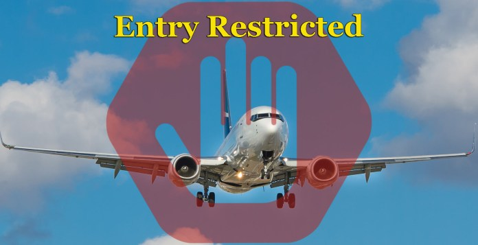 Restricted Travel - CAA Travel Advisory