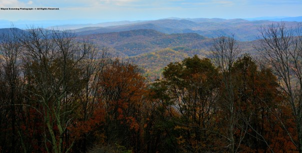 High Knob Massif - High Country In Autumn 2014