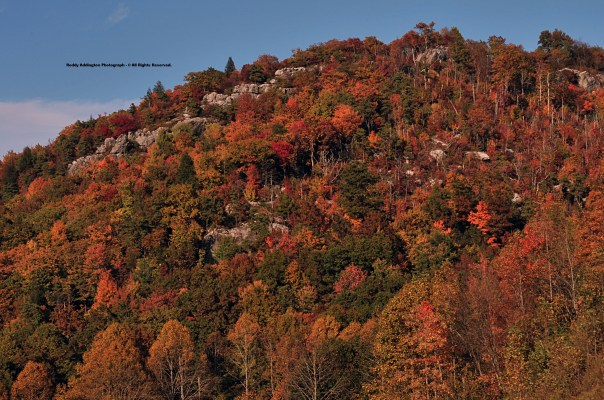 Rugged Northern Slopes of High Knob Massif - City of Norton & Jefferson National Forest