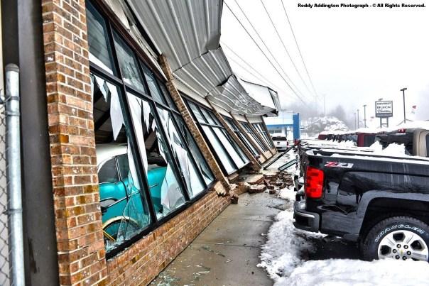 Classic Cars Destroyed Inside Building - Coeburn, VA - February 2015