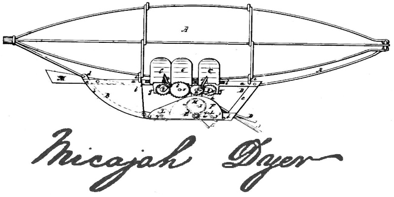 Did Clark Dyer fly before the Wright brothers did