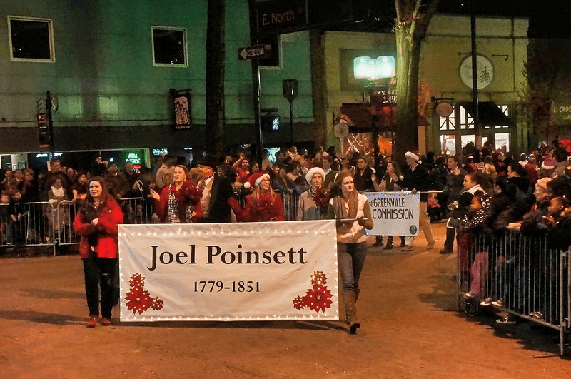 The Poinsett Connection Mexican Origins Of Greenville S Poinsettia Parade Appalachian History