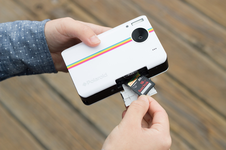 Polaroid-Z2300 carte sd avis