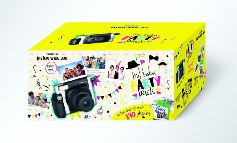 Instax Wide 300 party pack
