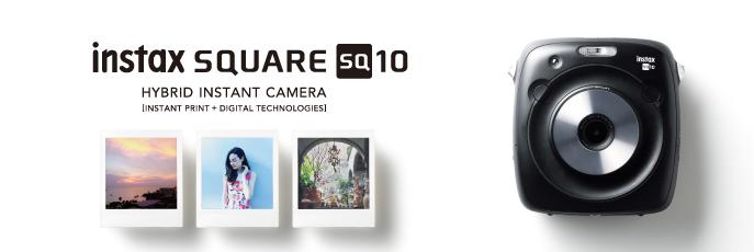 Fujifilm Square SQ10 design