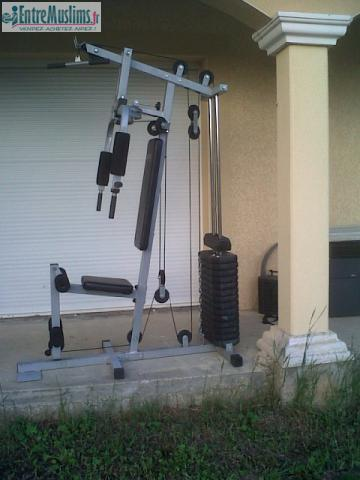 Banc De Musculation Energetics Muscu Maison