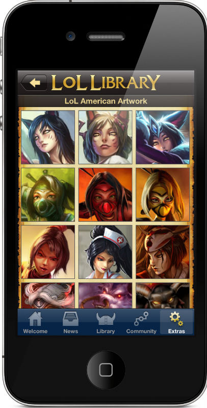 Lol Library  League of Legends Mobile App   iPhone  iPad    Android iPhone