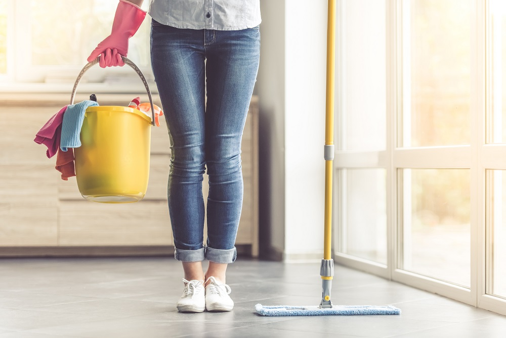 on demand cleaning service app