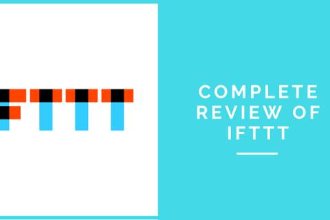 Reviewing IFTTT