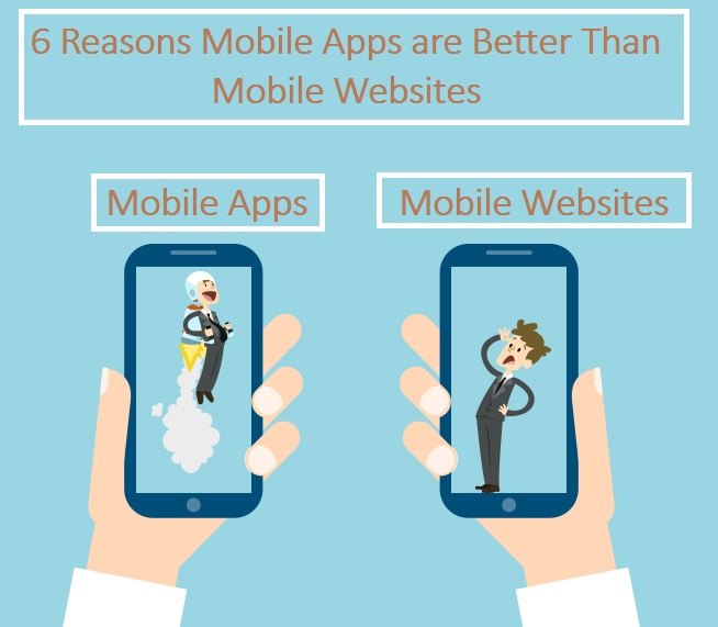 6 Reasons Mobile Apps are Better Than Mobile Websites