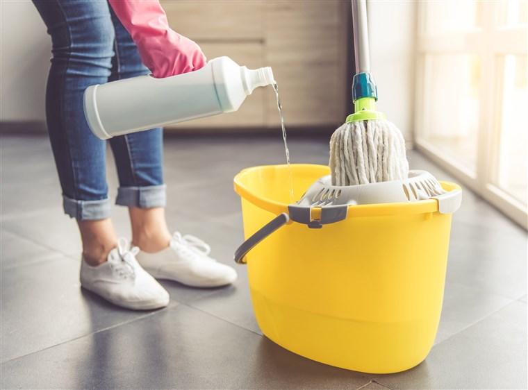 Mopp rengöring