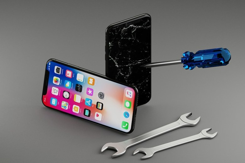 uber iPhone repair app