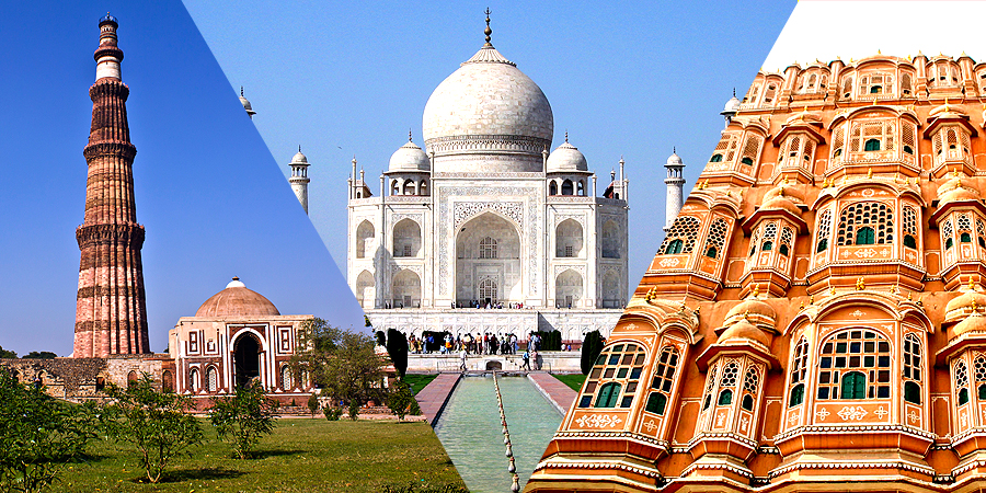 Top 7 Tourist Spots of Golden Triangle