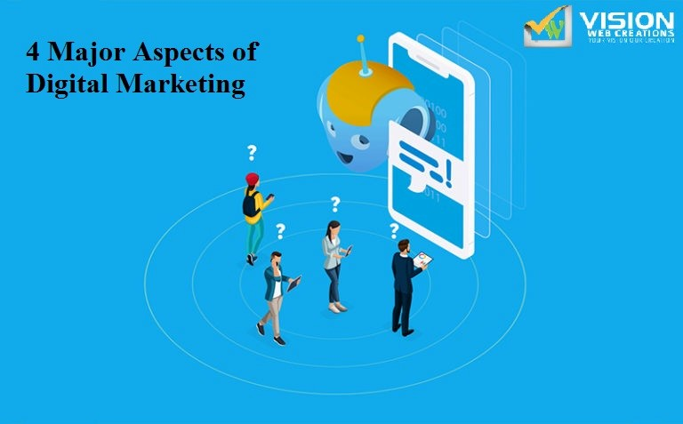 What Are the 4 Major Aspects of Digital Marketing?
