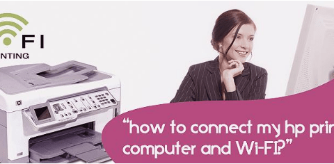 link HP Printer with Computer and Wi-Fi