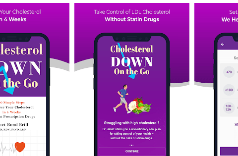 cholesterol away app