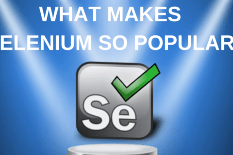 Selenium is more popular than other tools