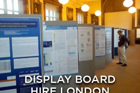 Display Board Hire London