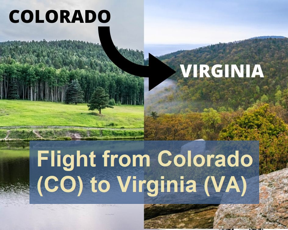 How to Book a Flight from Colorado to Virgenia
