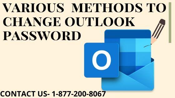 change outlook password