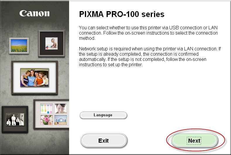 Canon 100 pro setup- canon pro 100 wireless network setup