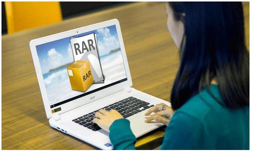 open RAR files