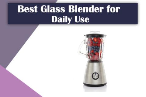 Clean Glass Blenders