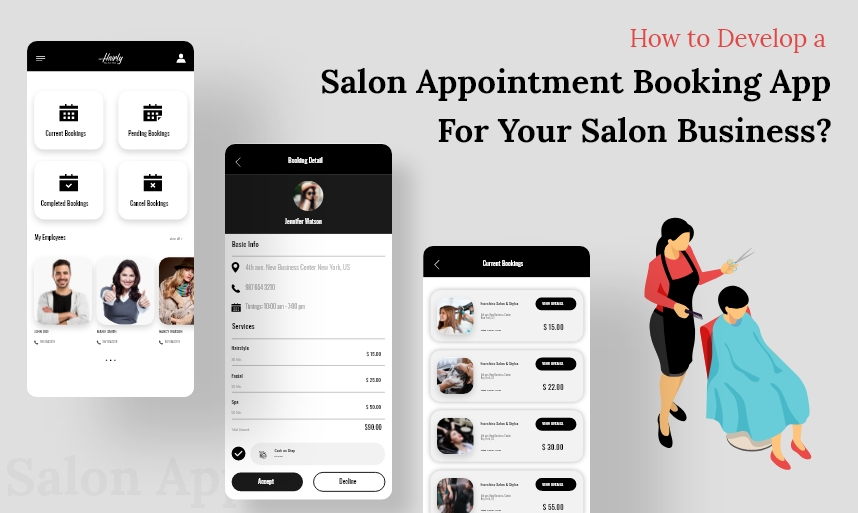 How to Develop a Salon Appointment Booking app for your salon Business?