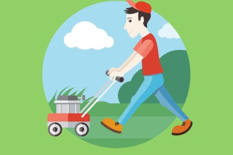 on demand lawn care app