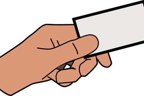 electronic visiting cards