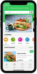 Grubhub Clone Restaurant Delivery App