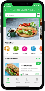 Grubhub Clone Restaurant Delivery App