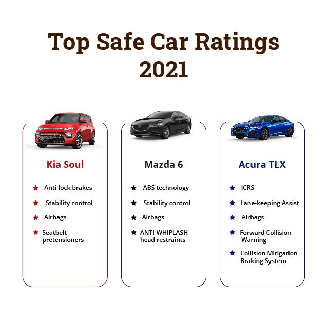 top safe cars