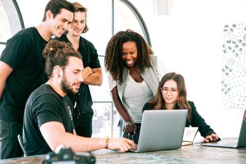 work with a custom application development company