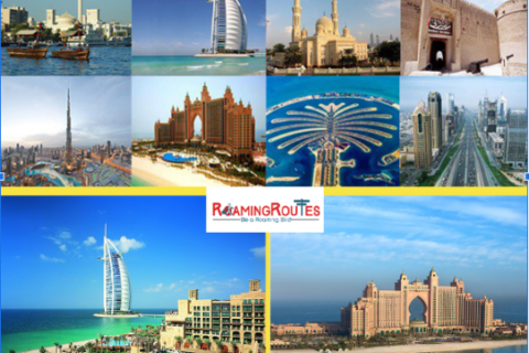 Dubai Tour Packages by Roaming Routes at best price.