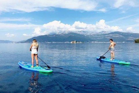 Miami beach paddle boarding