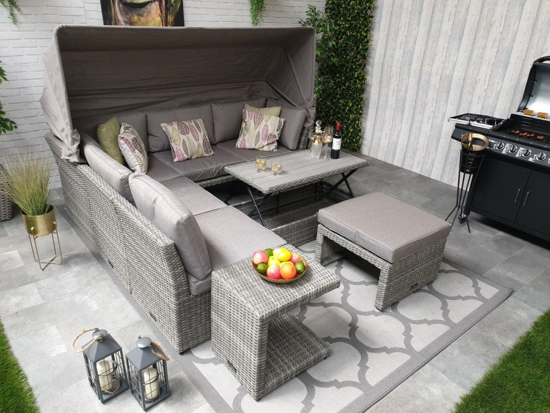 How To Use And Style Trending Rattan Outdoor Daybeds And Sofa Sets Indoor And Outdoor?