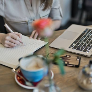 work as a freelance content creator