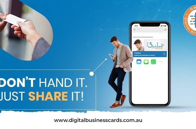 Digital Business Cards Online
