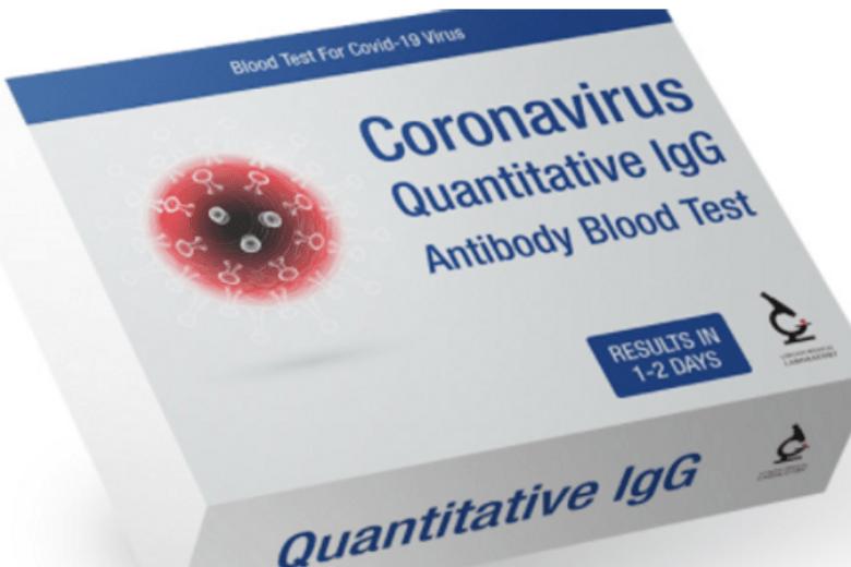coronavirus home test kit