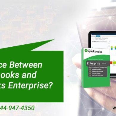 QuickBooks Vs. QuickBooks Enterprise