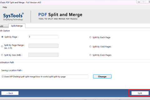 Split PDF into Multiple PDFs