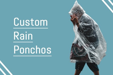Custom Rain Ponchos: The Best Promotional Products for Investing
